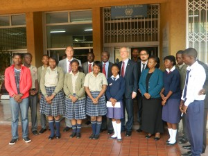 Group photo with the some of the participants and the British High Commissioner