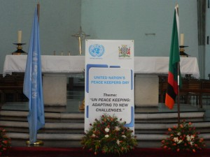 Theme for UN International Peacekeepers Day 2013