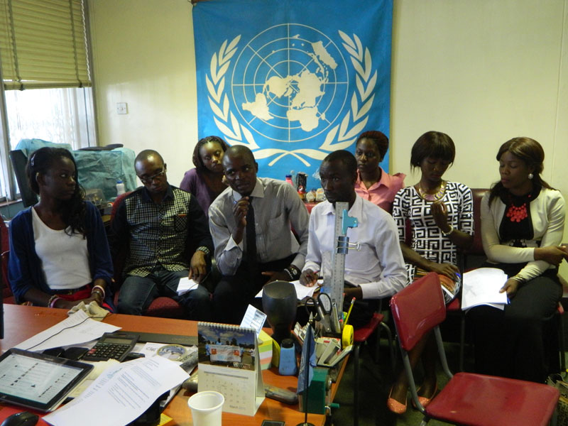 OHCHR   Creating the first, women-led student Human Rights
