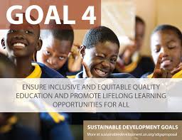 Goal 4 Ensure inclusive and equitable quality education and promote lifelong learning opportunities for all
