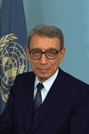 Boutros Boutros-Ghali is former Secretary-General of the United Nations, having served from January 1992 to December 1996.