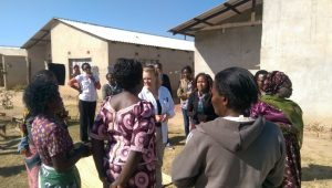 RC meeting with the women's group in kitwe