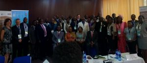 Participants of the food packaging meeting. Photo/UNIC/Lusaka/Maseko/2018