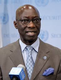 Mr. Adama Dieng, United Nations Special Adviser on the Prevention of Genocide.